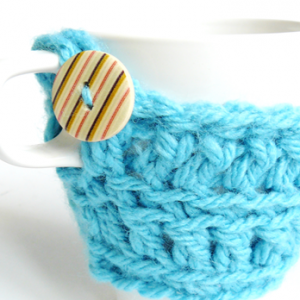 crochet cozy mug
