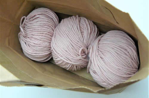 pink yarn balls