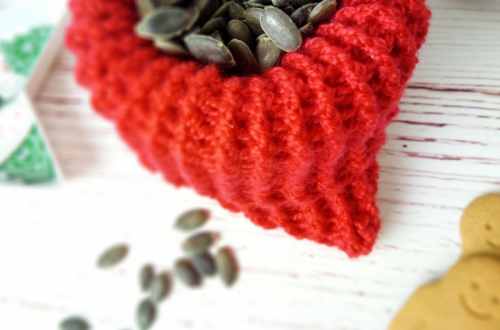 Free Crochet Pattern Sack of seeds
