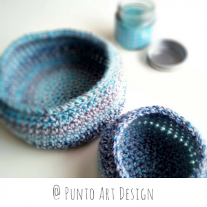 Basket Set crochet pattern