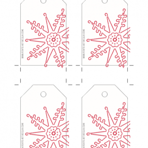 Tag for Xmas Design 3