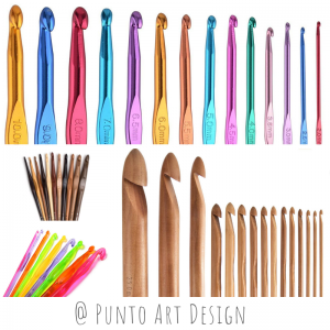 Crochet hooks Punto Art Design