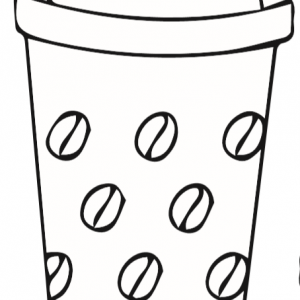 Coffee Cup Template 1