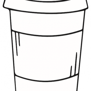 Coffee Cup Template 2
