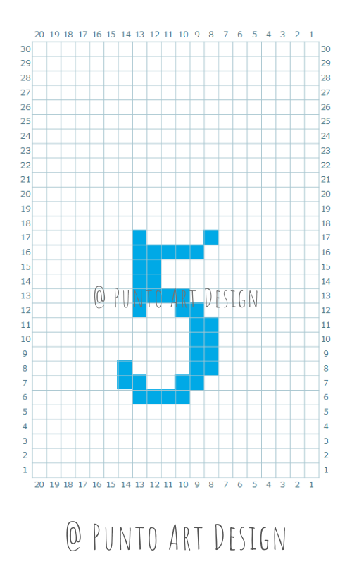 Numbers Design Chart 5
