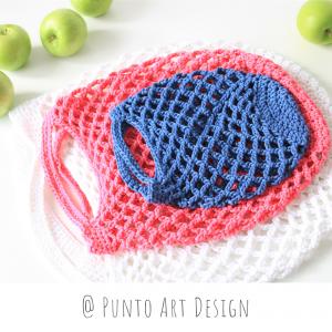Crochet Market Bags Set (1)