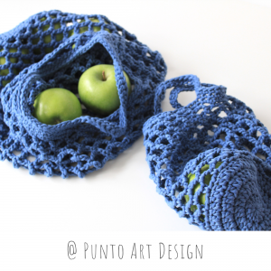 Crochet Market Bags Set (2)