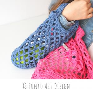 Crochet Market Bags Set (3)