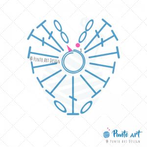 Heart Crochet Diagram 1.1