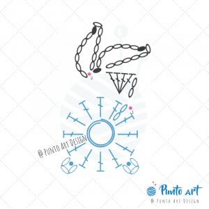 Rabbit Crochet Diagram 1