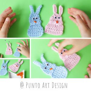 Bunny Crochet chart